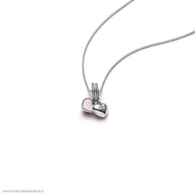 Pandora Best Friends Pendant And Necklace